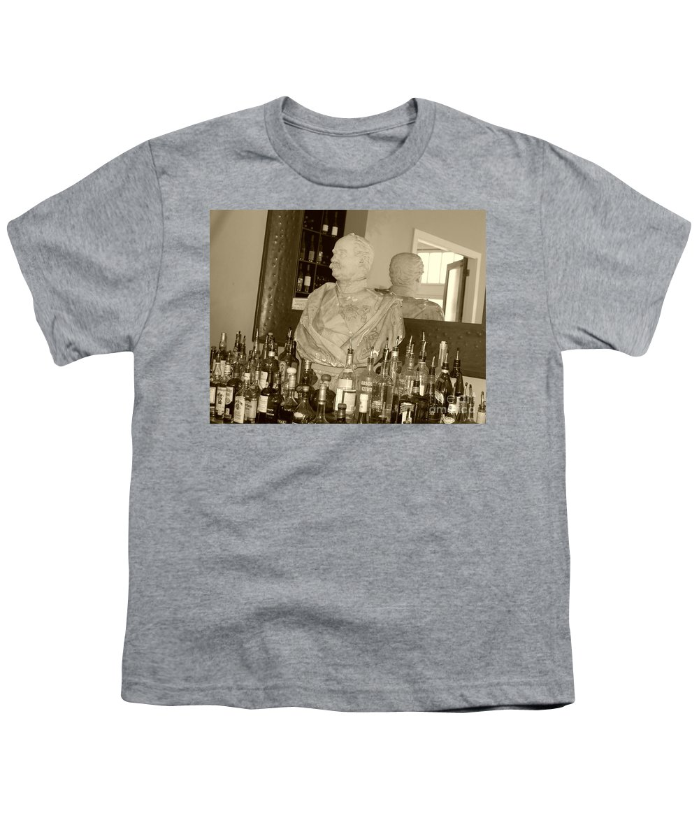 Bust Youth T-Shirt featuring the photograph Chipped Reflection by Debbi Granruth