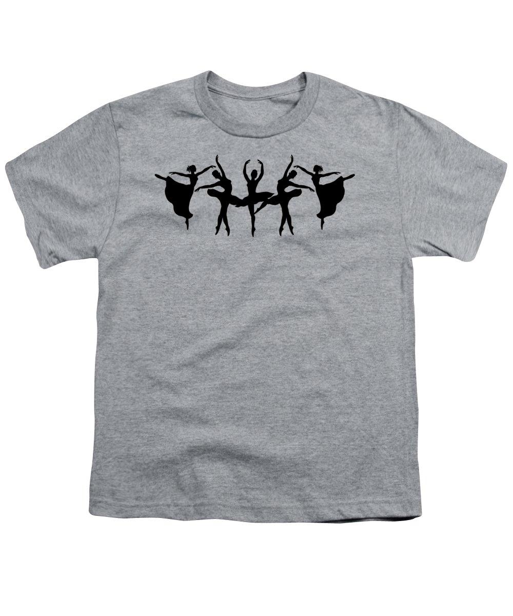 Ballerina Youth T-Shirts