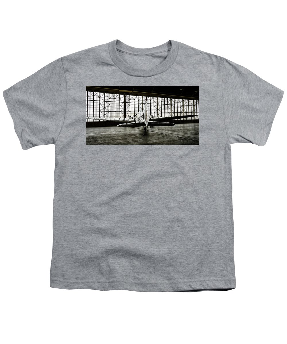 Dc-3 Youth T-Shirt featuring the photograph Dc-3 by Bill Gabbert