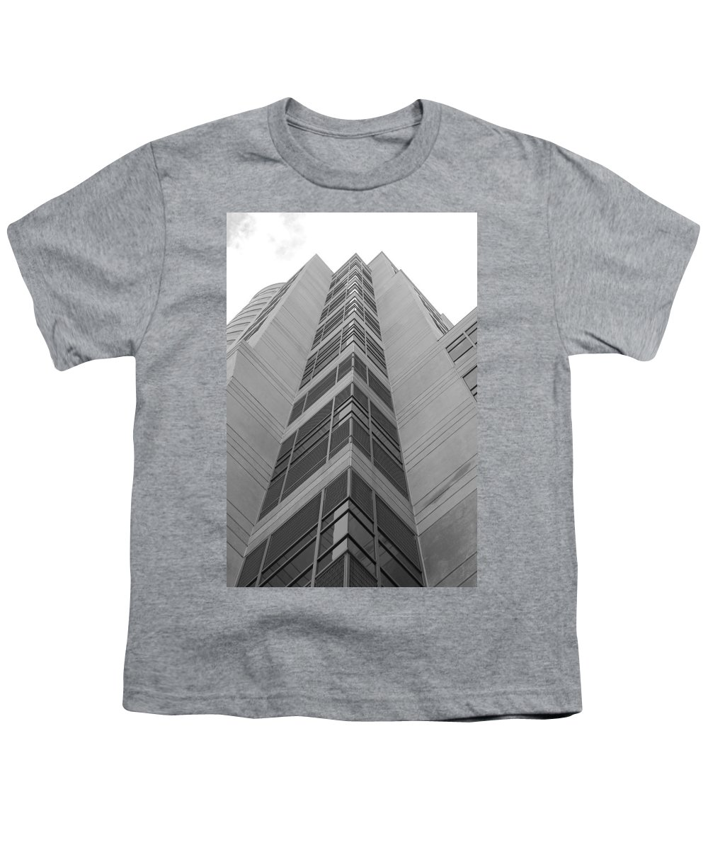 Architecture Youth T-Shirt featuring the photograph Glass Tower by Rob Hans