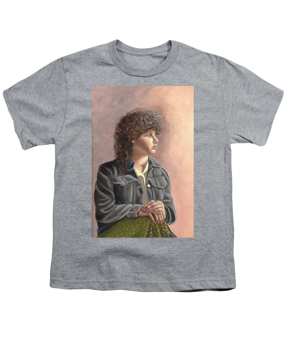 Youth T-Shirt featuring the painting Grace by Toni Berry