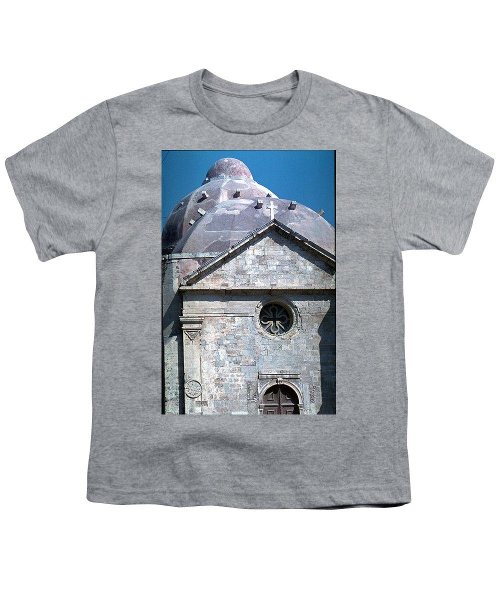 Greek Orthodox Church Youth T-Shirt featuring the photograph Greek Orthodox Church by Flavia Westerwelle