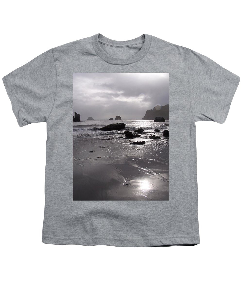 Beach Youth T-Shirt featuring the photograph Indian Beach by Gale Cochran-Smith