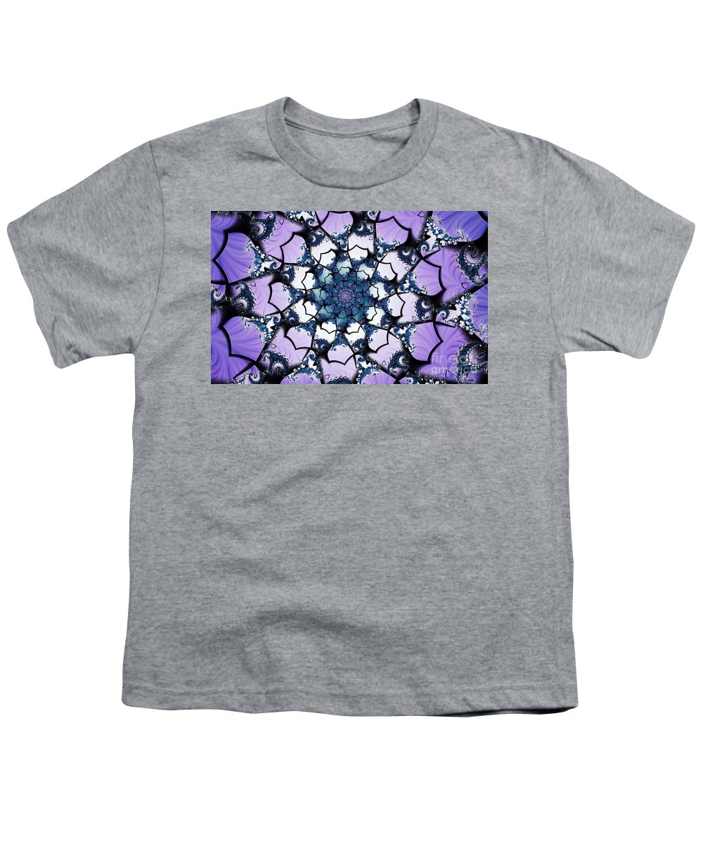 Clay Youth T-Shirt featuring the digital art Julia by Clayton Bruster