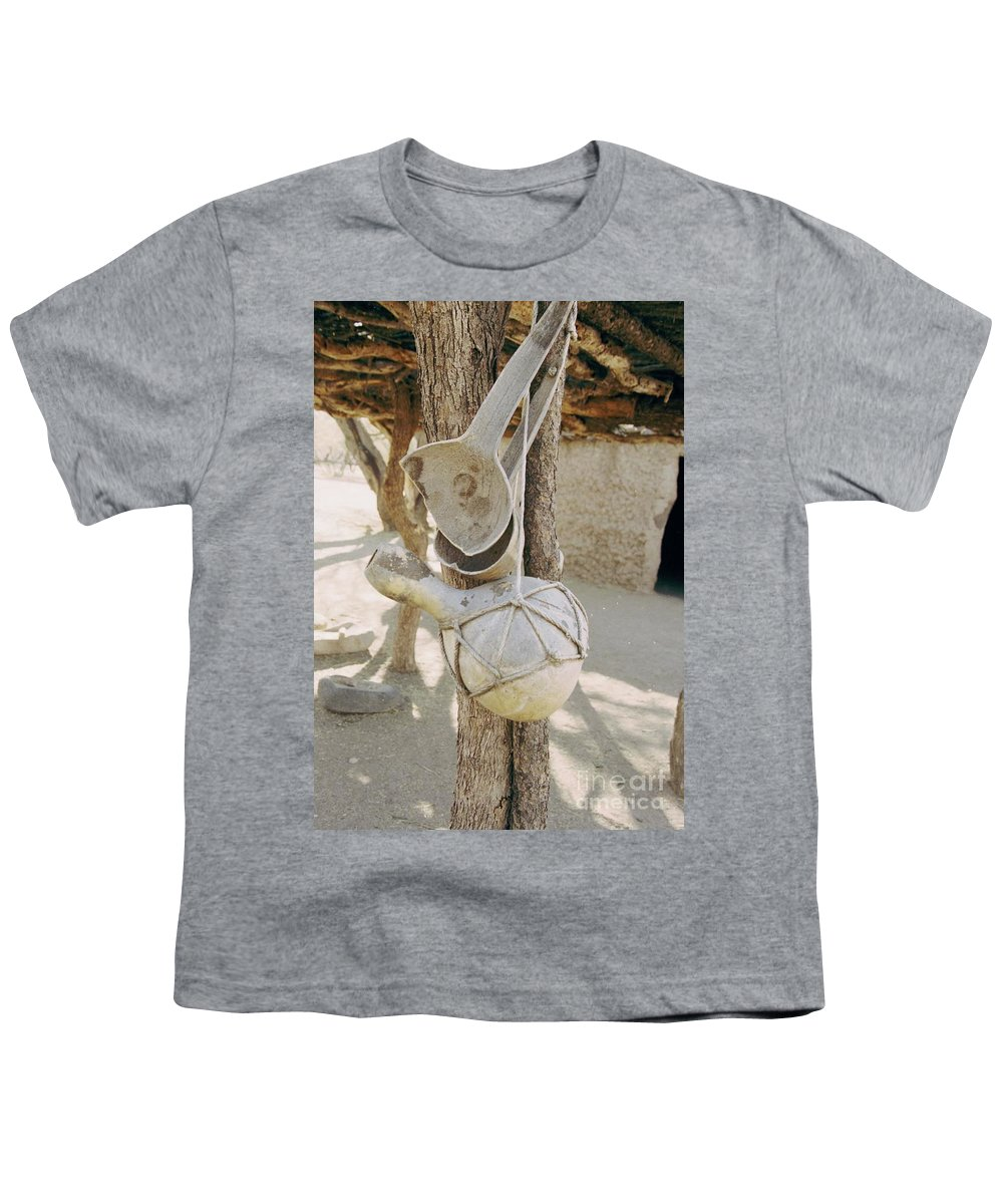 Tumacacori Youth T-Shirt featuring the photograph Kitchen Utensils by Kathy McClure