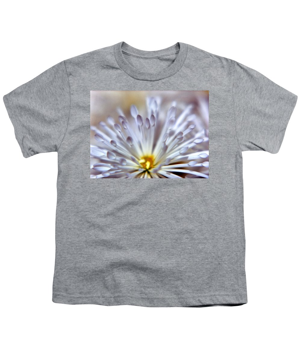 Macro Youth T-Shirt featuring the photograph Macro Flower 3 by Lee Santa