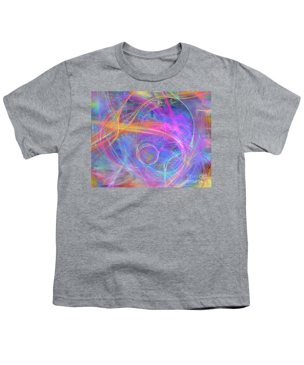 Mystic Beginning Youth T-Shirt featuring the digital art Mystic Beginning by John Beck