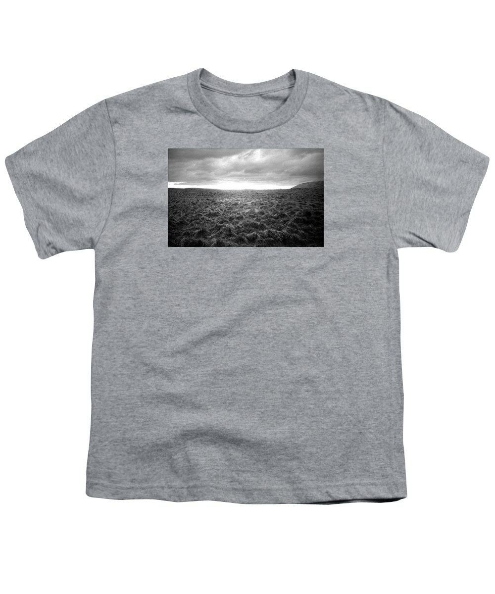 Landscape Youth T-Shirt featuring the photograph Opening by Ted M Tubbs