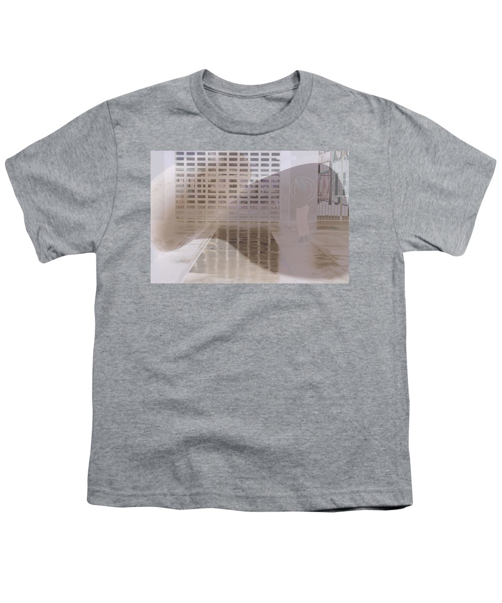Pondering Youth T-Shirt featuring the photograph Pondering by Kerryn Madsen-Pietsch