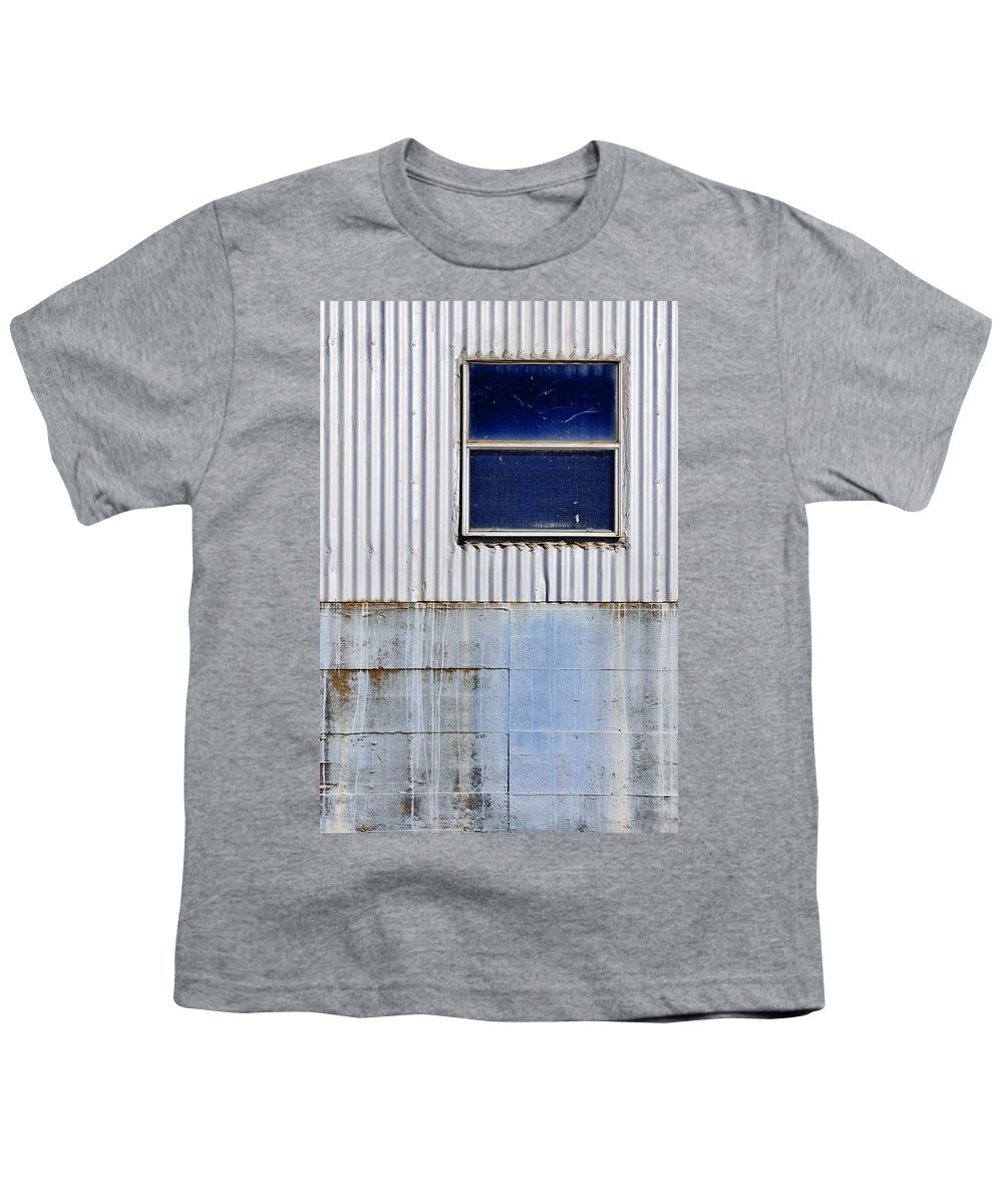 Skip Hunt Youth T-Shirt featuring the photograph Powder Blu by Skip Hunt