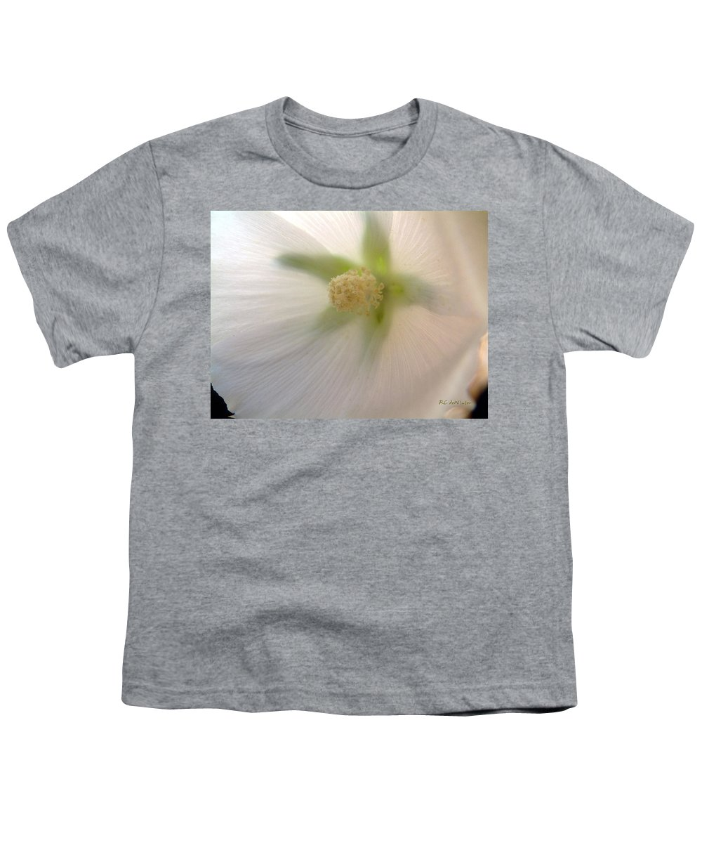 Blossom Youth T-Shirt featuring the photograph Shimmer by RC DeWinter