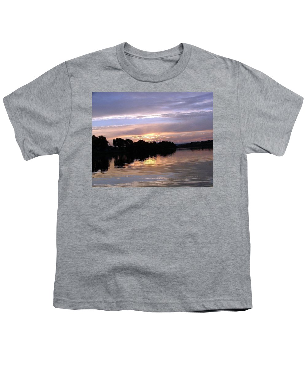 Snake River Youth T-Shirt featuring the photograph Sunset On The Snake by Dawn Blair