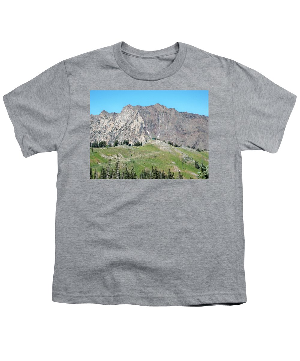 Landscape Youth T-Shirt featuring the photograph Superior by Michael Cuozzo
