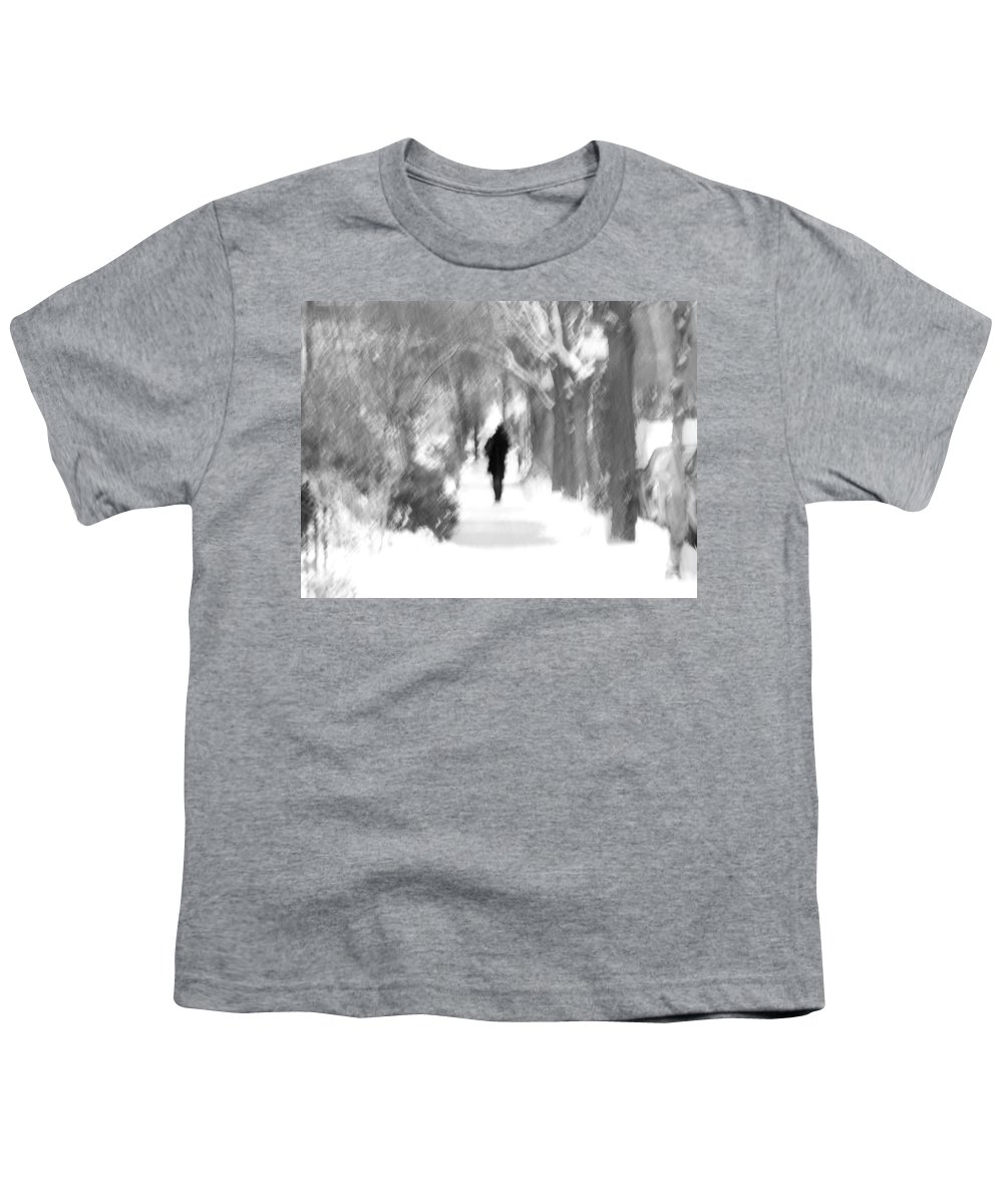 Blur Youth T-Shirt featuring the photograph The Long December by Dana DiPasquale