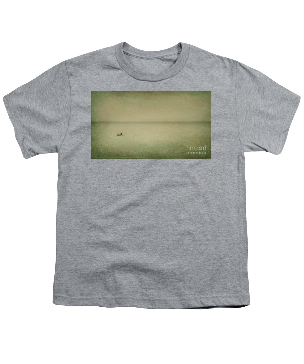Sea Youth T-Shirt featuring the photograph The Recesses Of The Deep by Dana DiPasquale