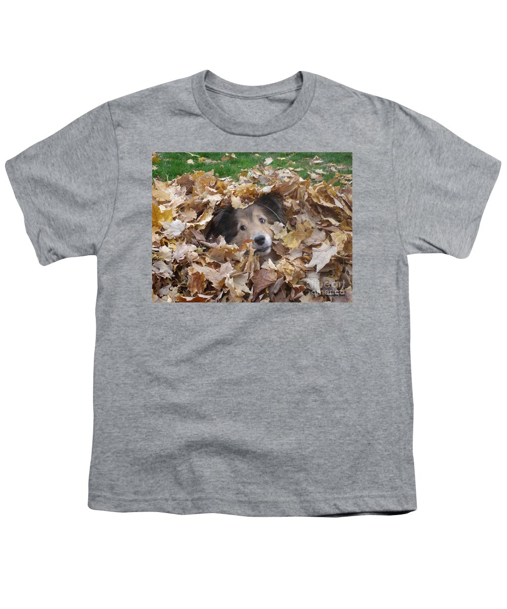 Dog Youth T-Shirt featuring the photograph Those Eyes by Shelley Jones