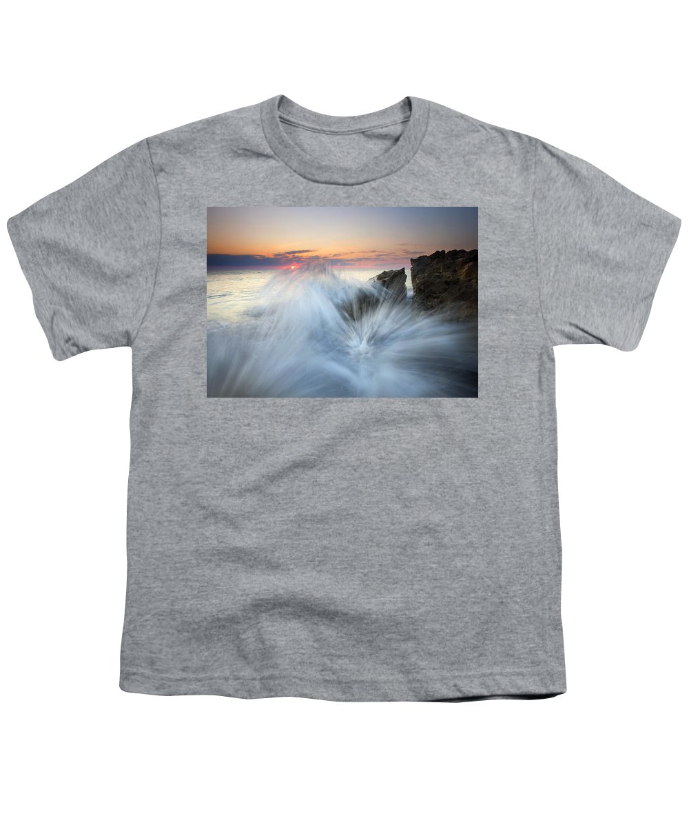 Sunrise Youth T-Shirt featuring the photograph Too Close For Comfort by Mike Dawson