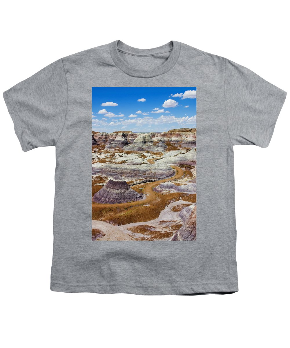 Painted Desert Youth T-Shirt featuring the photograph Yea Though I Walk by Skip Hunt