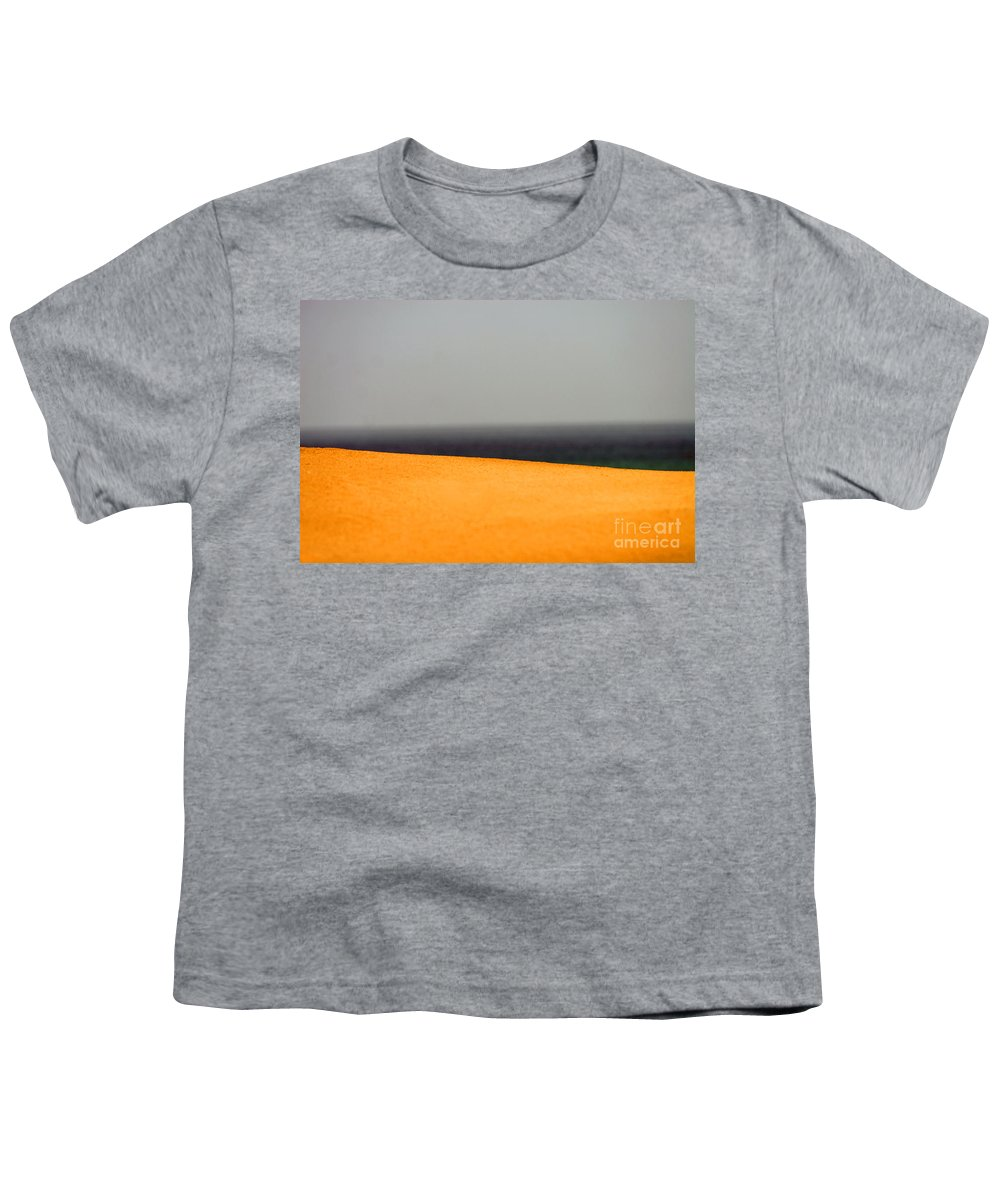 Yellow Youth T-Shirt featuring the photograph Yellow Horizon by Hana Shalom