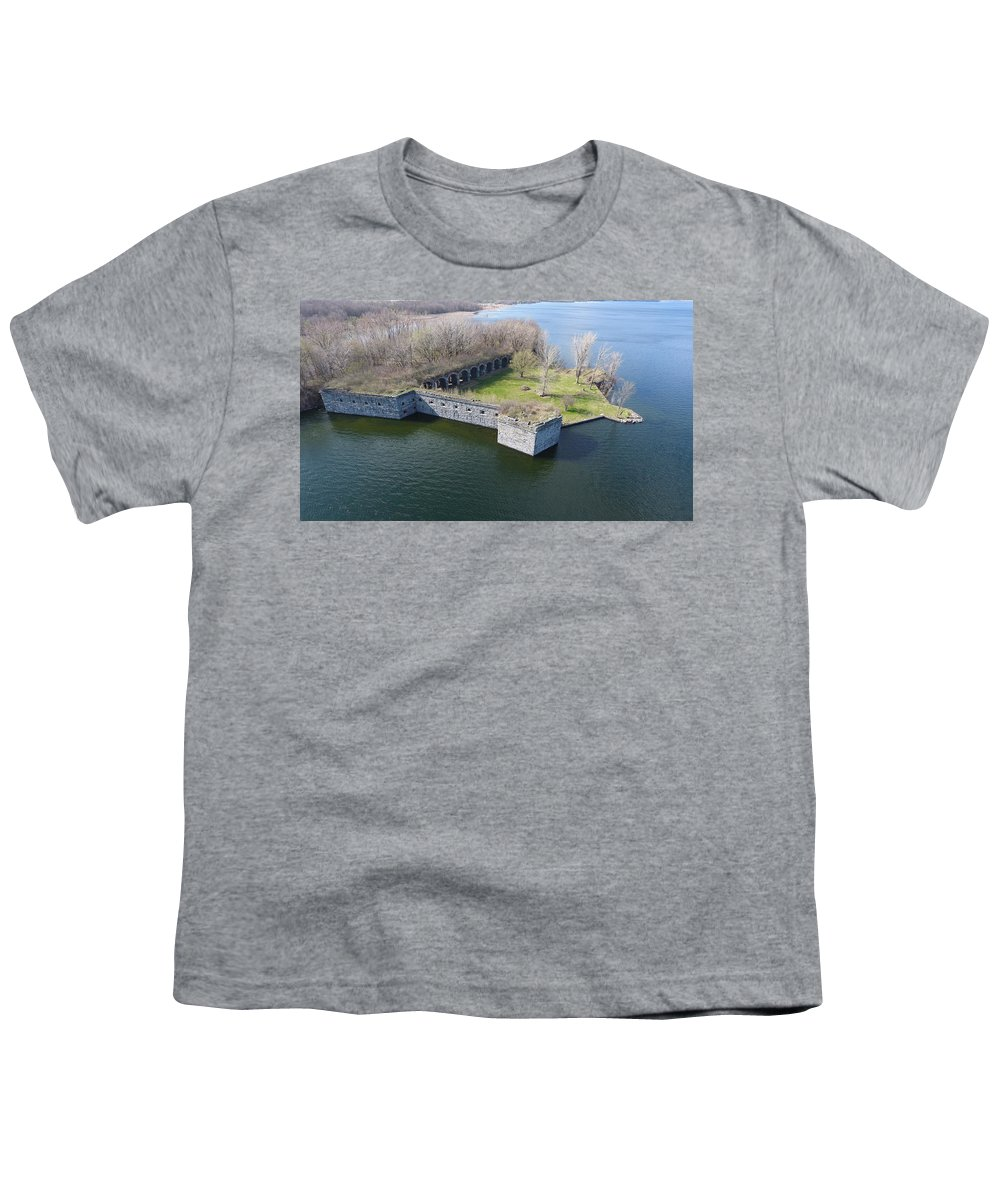 Youth T-Shirt featuring the photograph Ft Montgomery In Spring by Jedidiah Thone