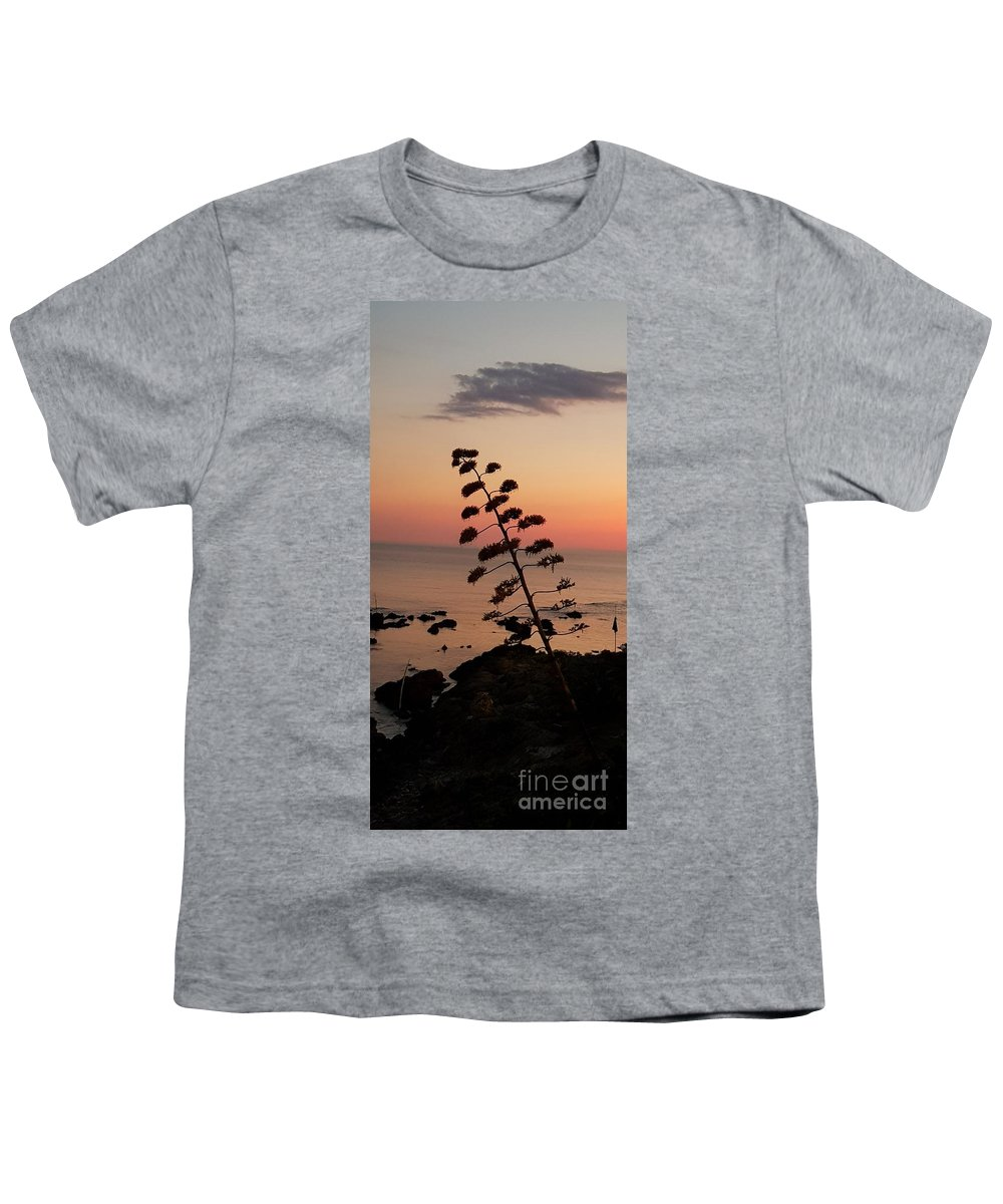 Sunset Youth T-Shirt featuring the photograph Wild Sunset by Paola Baroni