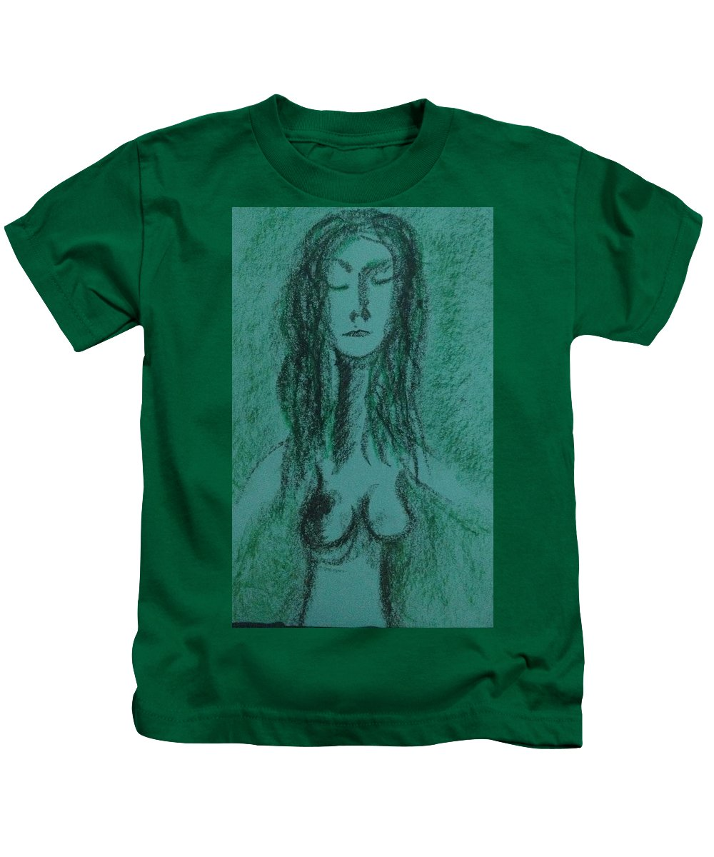 Woman Kids T-Shirt featuring the photograph Art Therapy 147 by Michele Monk