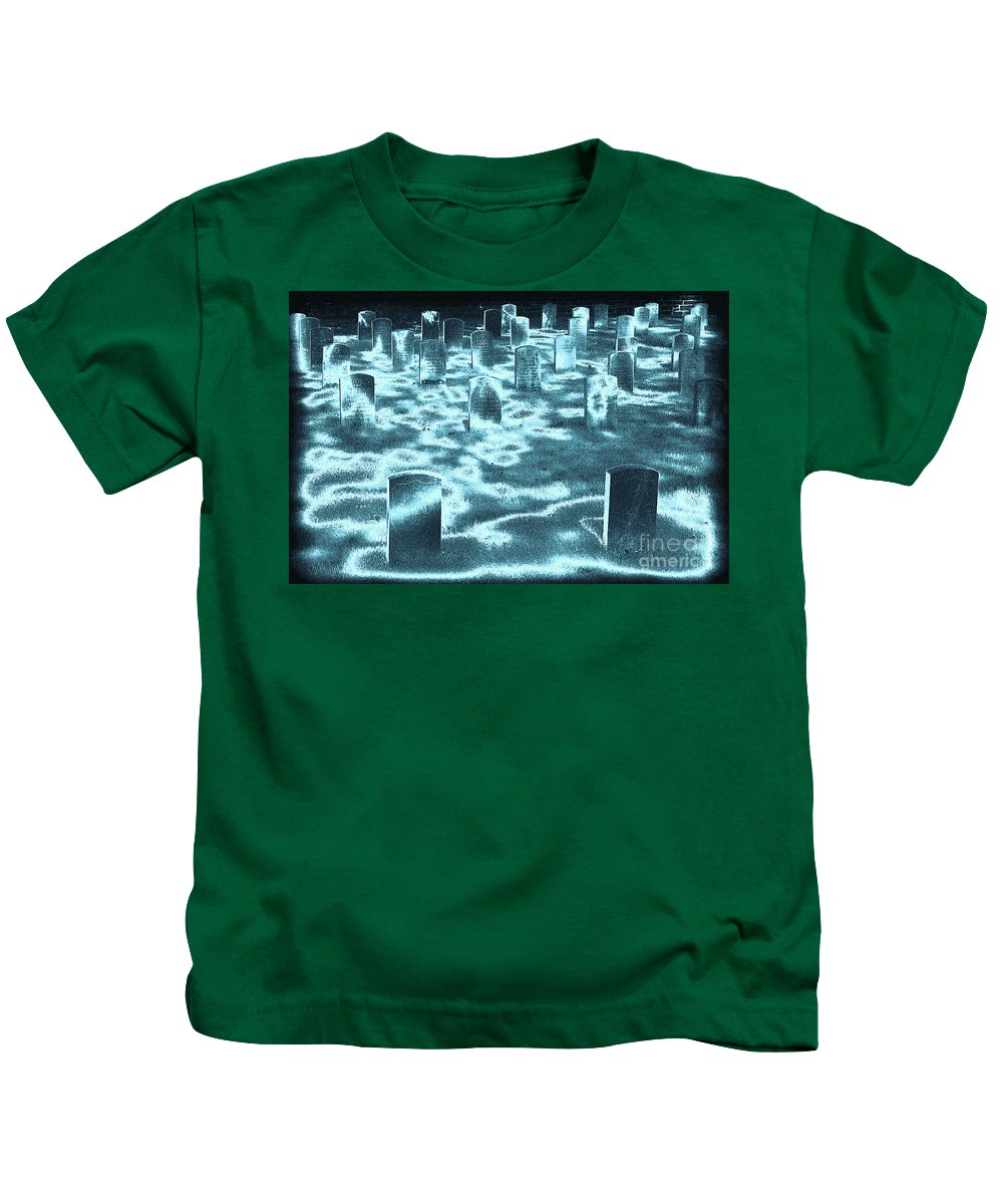 Battlefield Kids T-Shirt featuring the photograph Field Of Lost Spirits by Paul W Faust - Impressions of Light