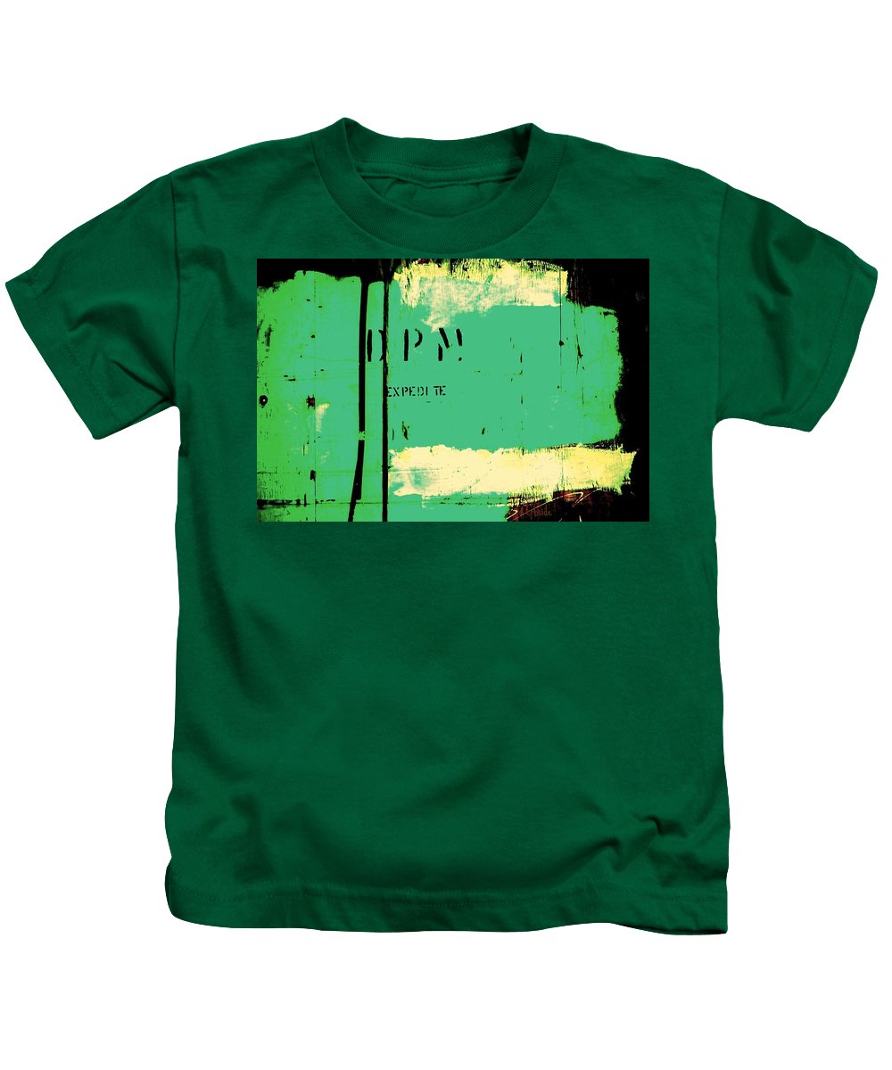 Crate Kids T-Shirt featuring the photograph Homeless Shelter by Chris Berry