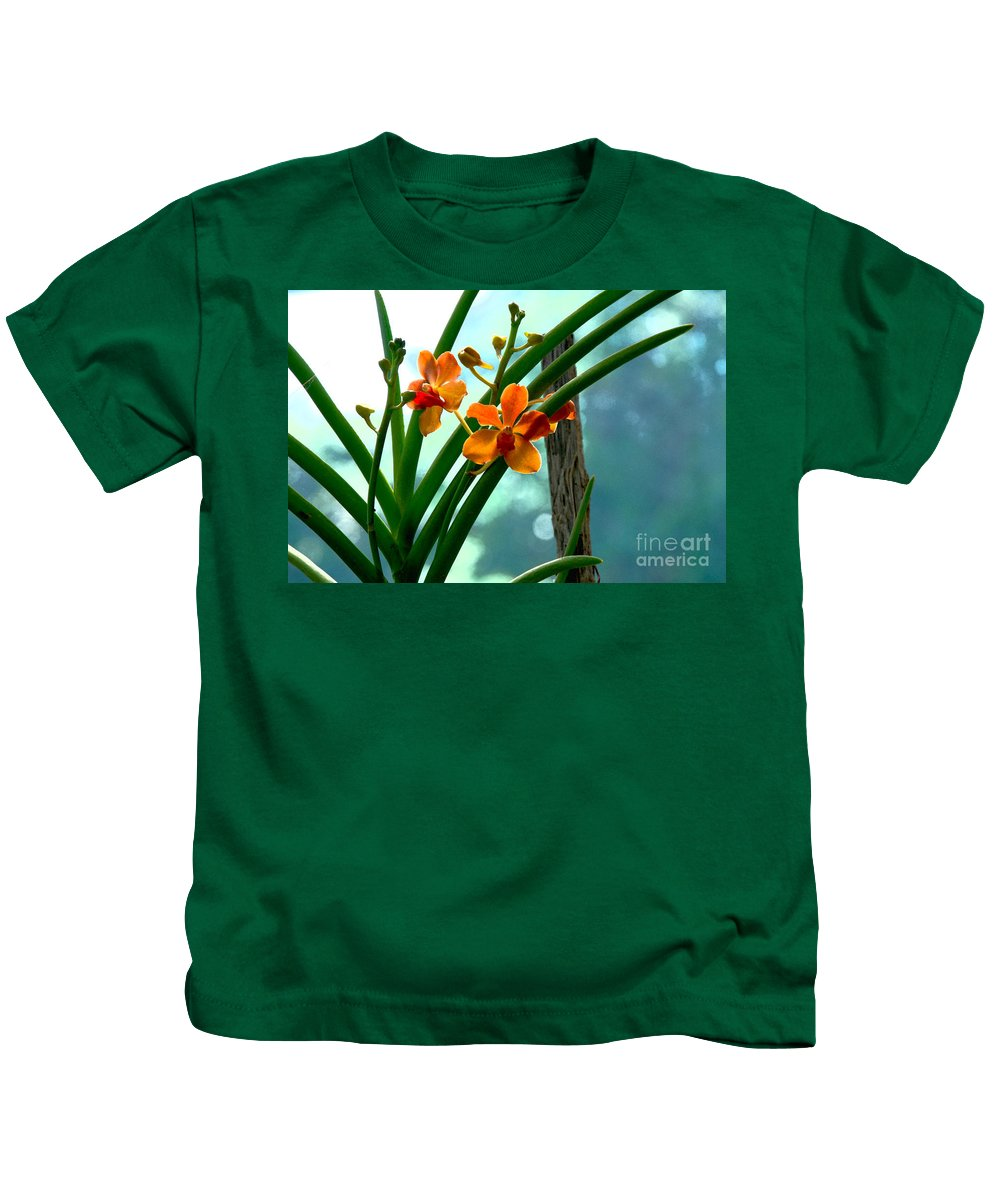 Nature Kids T-Shirt featuring the photograph Flowers In Spring by Pravine Chester