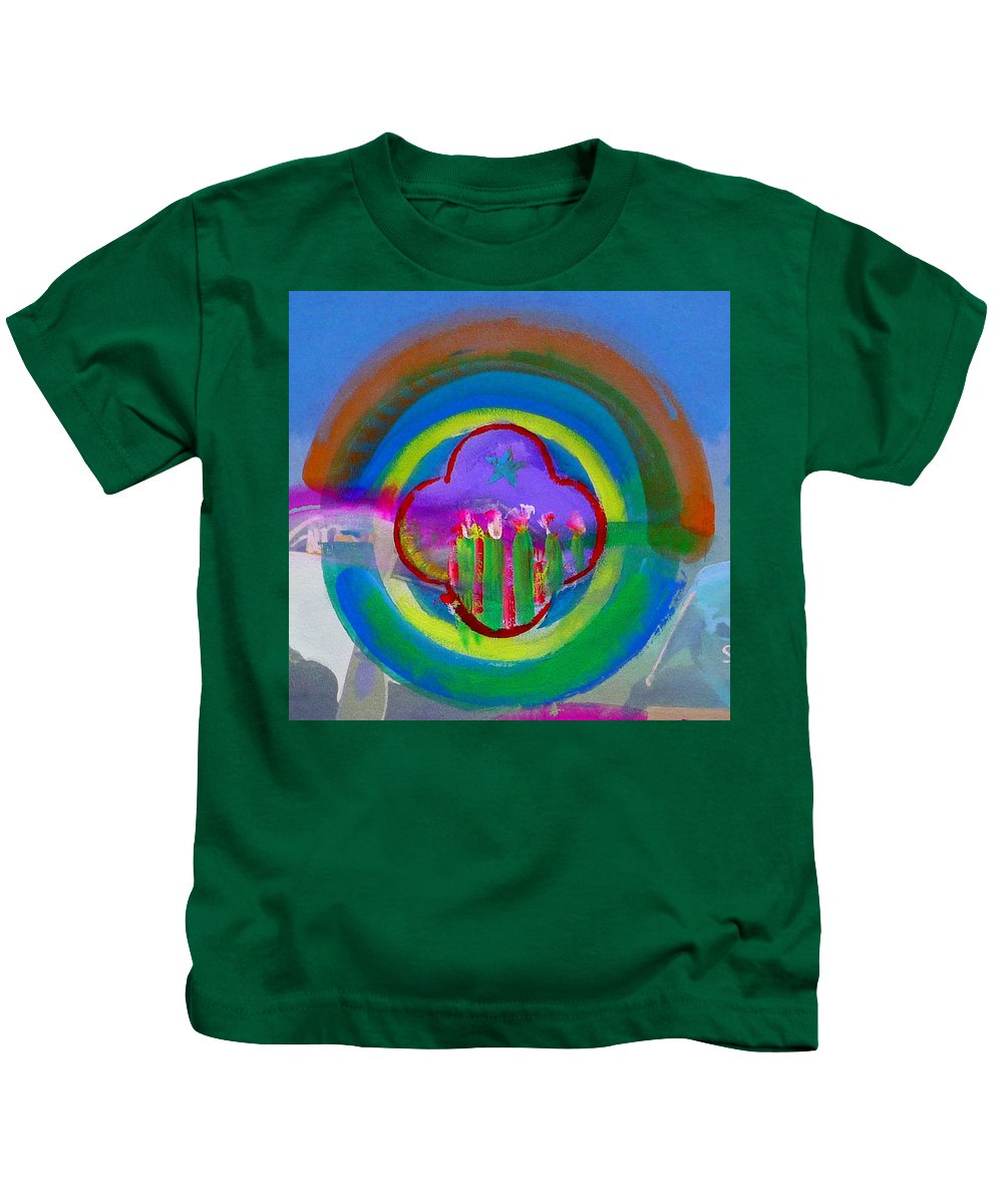 Love Kids T-Shirt featuring the painting American Spring by Charles Stuart