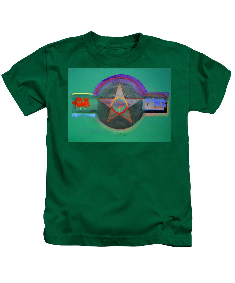Star Kids T-Shirt featuring the painting Arlington Green by Charles Stuart