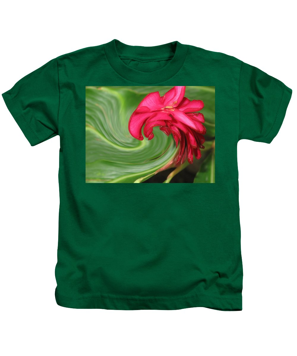 Flower Kids T-Shirt featuring the photograph Come To Me by Ian MacDonald