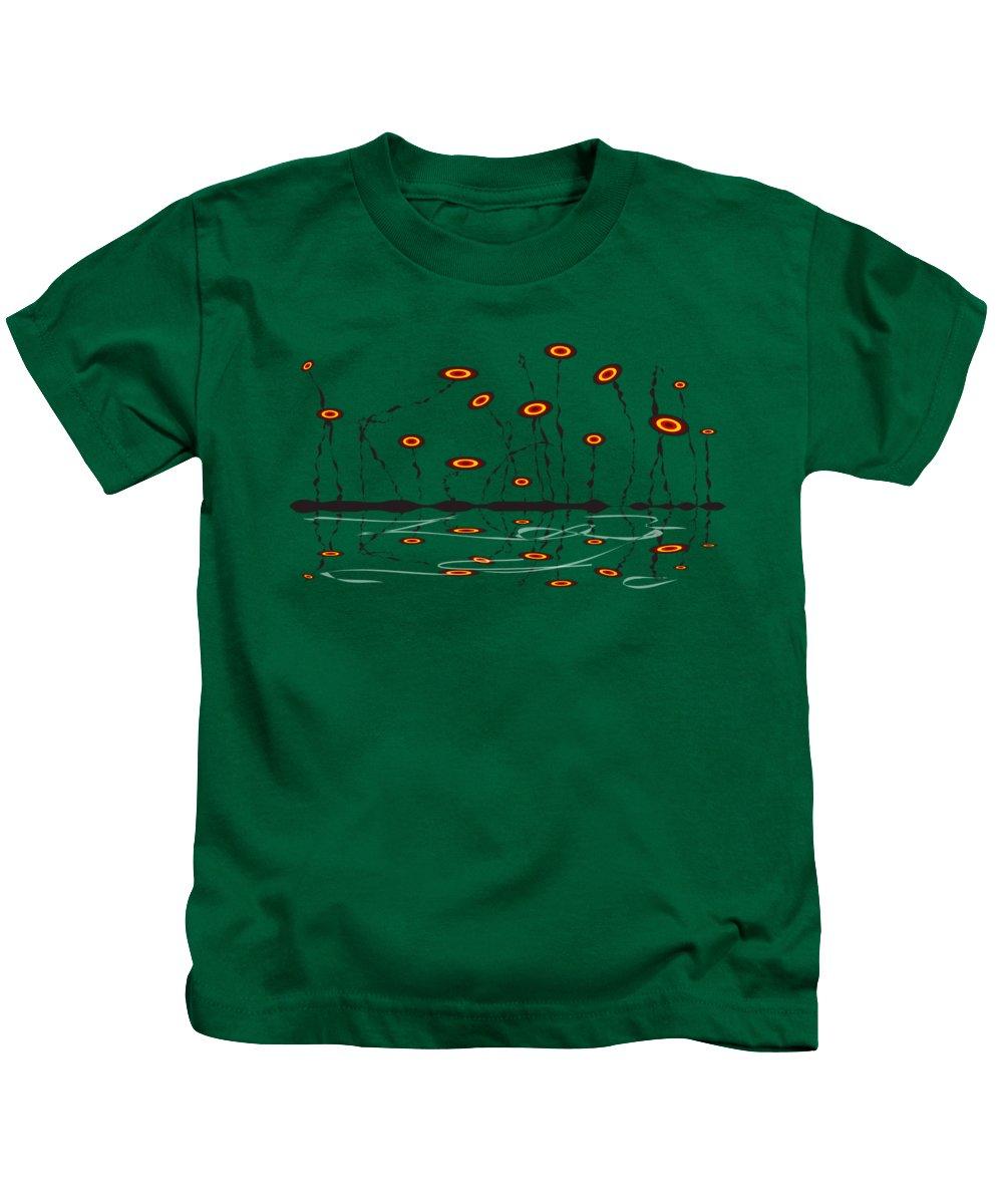 Malakhova Kids T-Shirt featuring the digital art Constant Vigilance by Anastasiya Malakhova