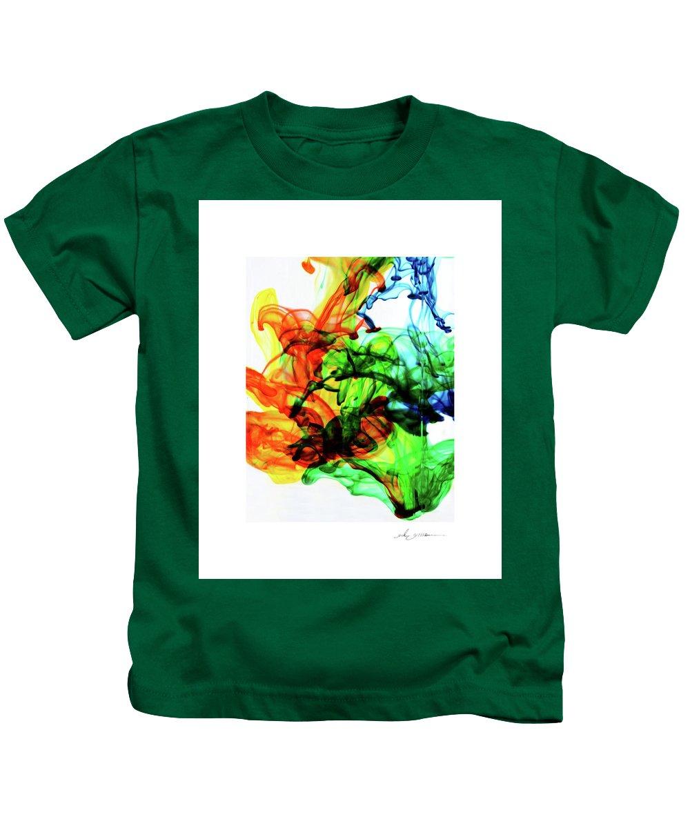 Green Kids T-Shirt featuring the photograph Fruit Salad by Glenn Grossman