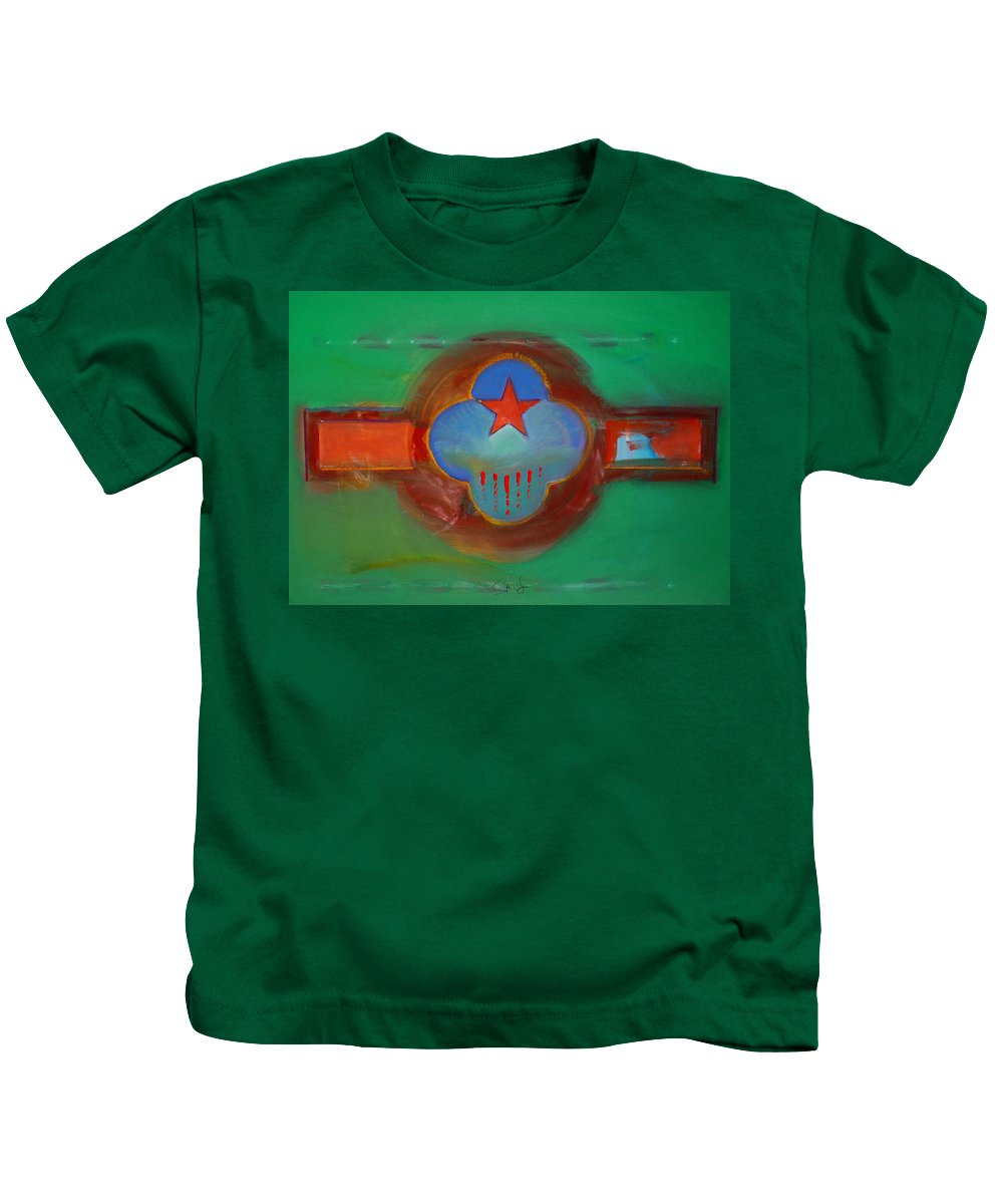 Star Kids T-Shirt featuring the painting Grand Canal by Charles Stuart
