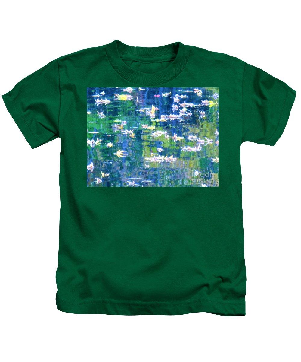 Water Art Kids T-Shirt featuring the photograph Joyful Sound by Sybil Staples