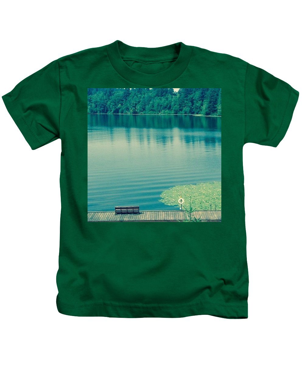 Lake Kids T-Shirt featuring the photograph Lake by Andrew Redford