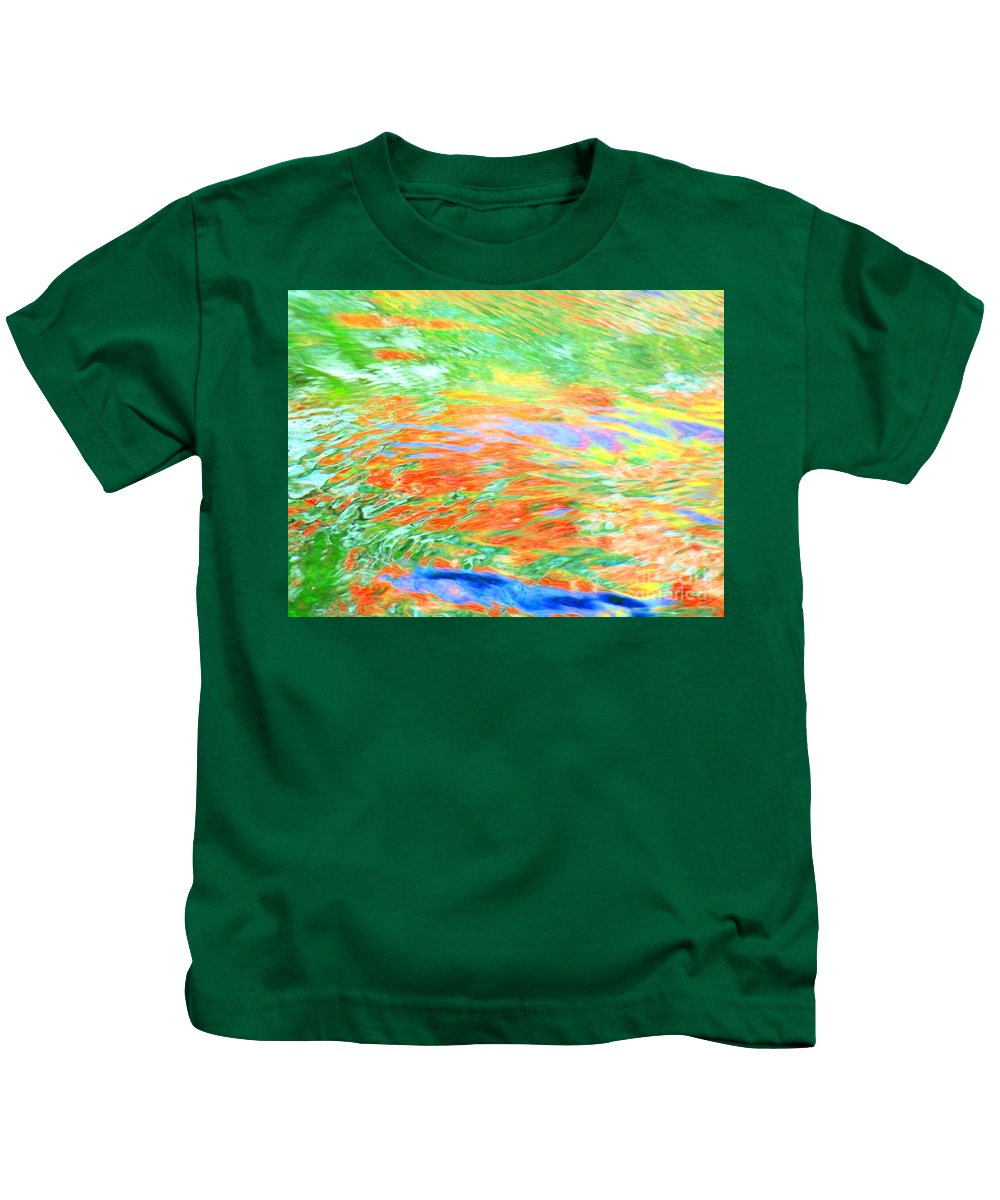 Abstract Kids T-Shirt featuring the photograph Shine Through by Sybil Staples