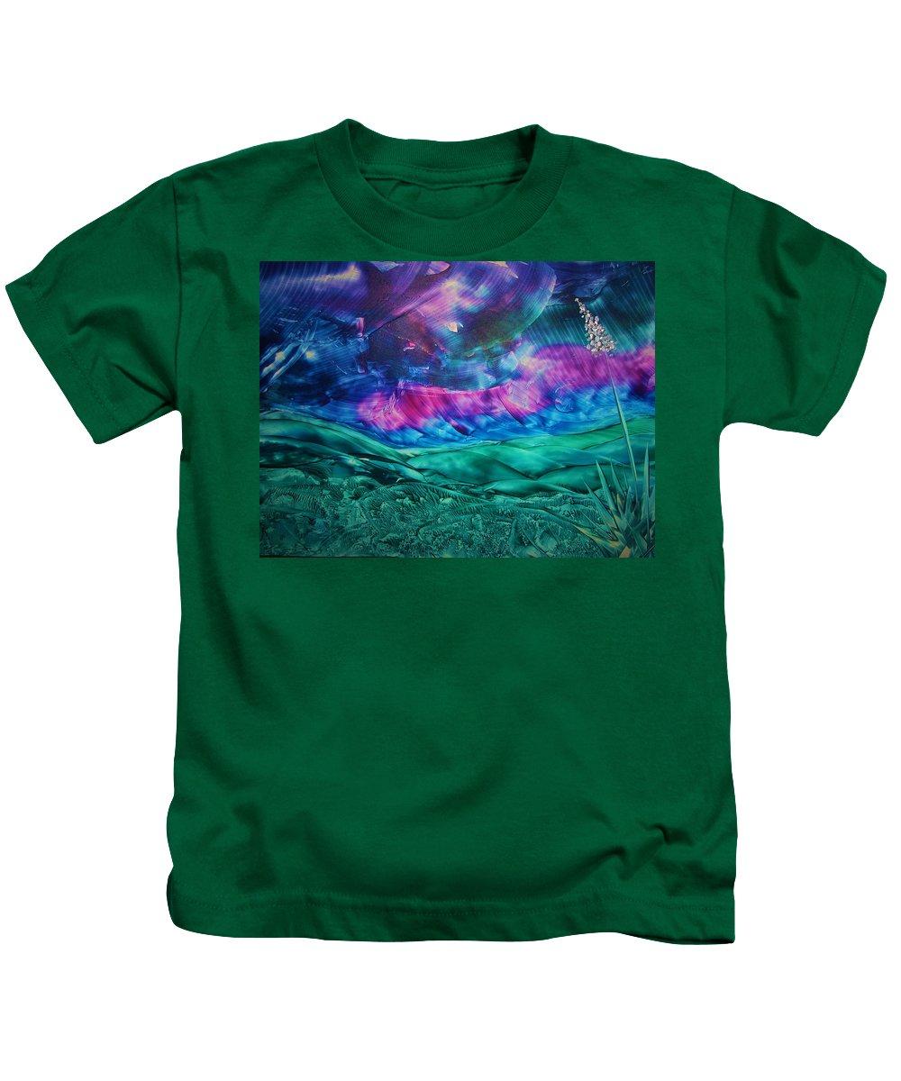 Desert Kids T-Shirt featuring the print Sierra Vista by Melinda Etzold
