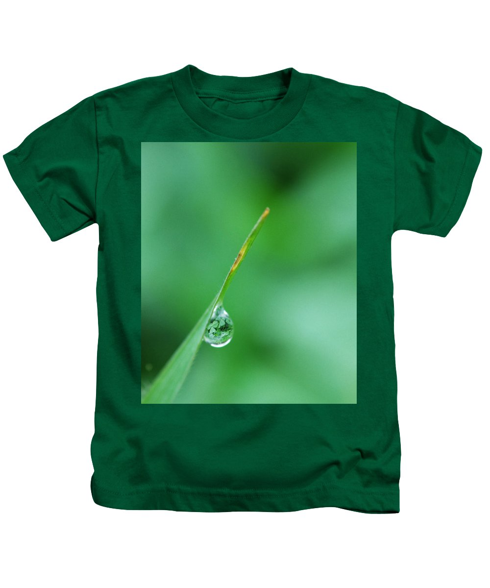 Grass Kids T-Shirt featuring the photograph St. Patrick's Day by Donna Blackhall