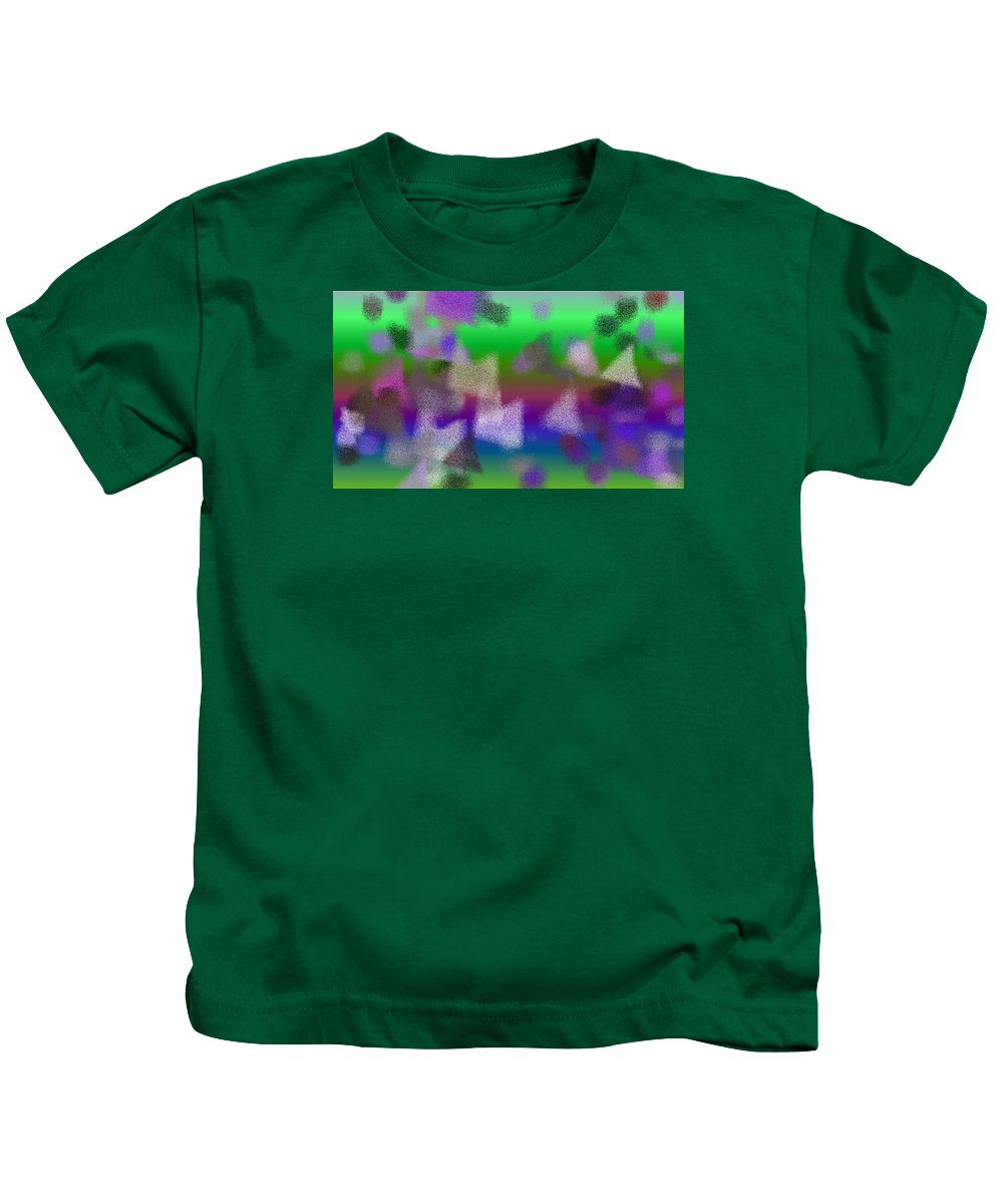 Abstract Kids T-Shirt featuring the digital art T.1.1248.78.16x9.9102x5120 by Gareth Lewis