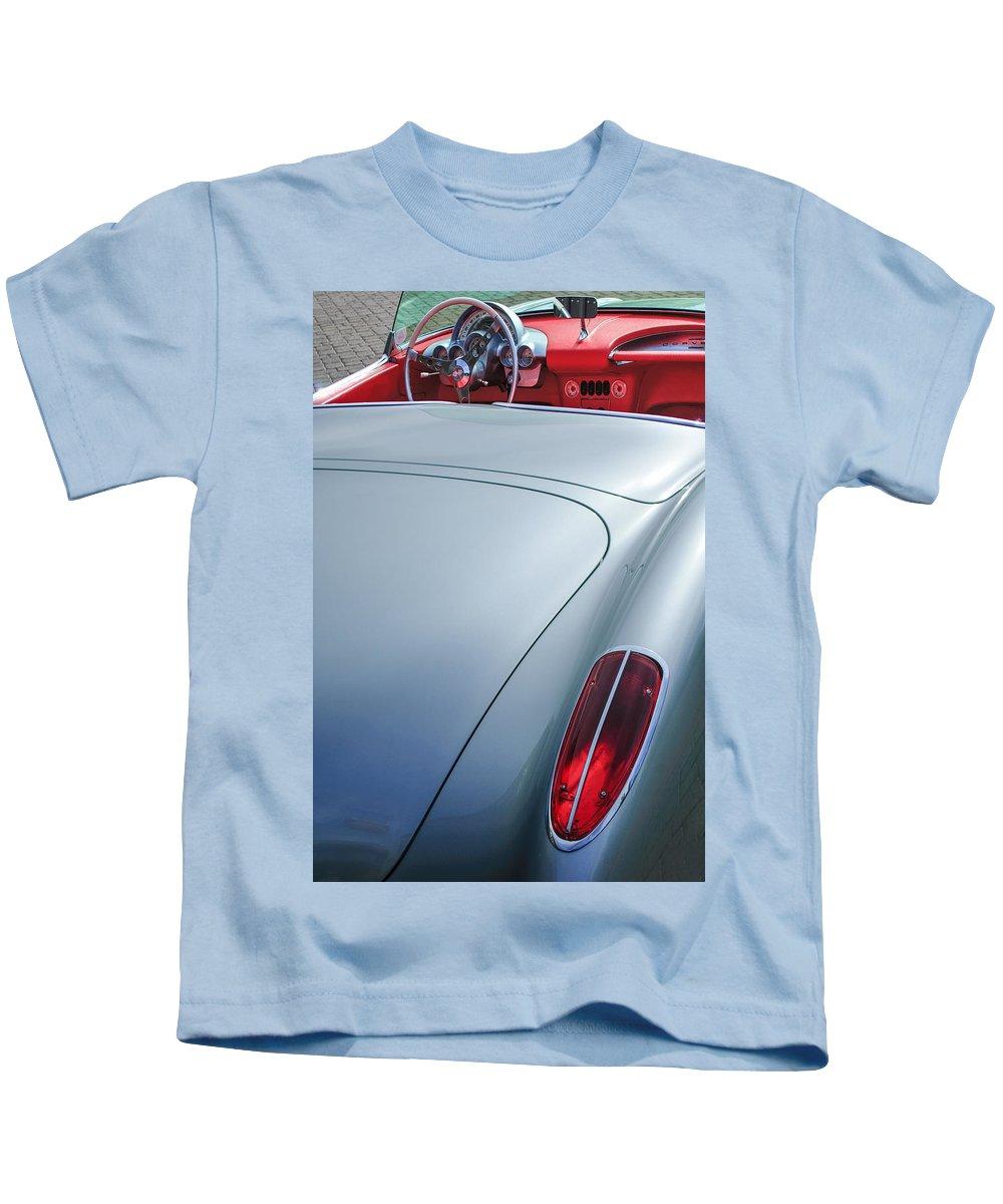 Chevy Old Vette Kids T-Shirt