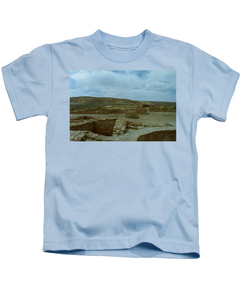 Indian Kids T-Shirt featuring the photograph Chaco Canyon by Mike Wheeler