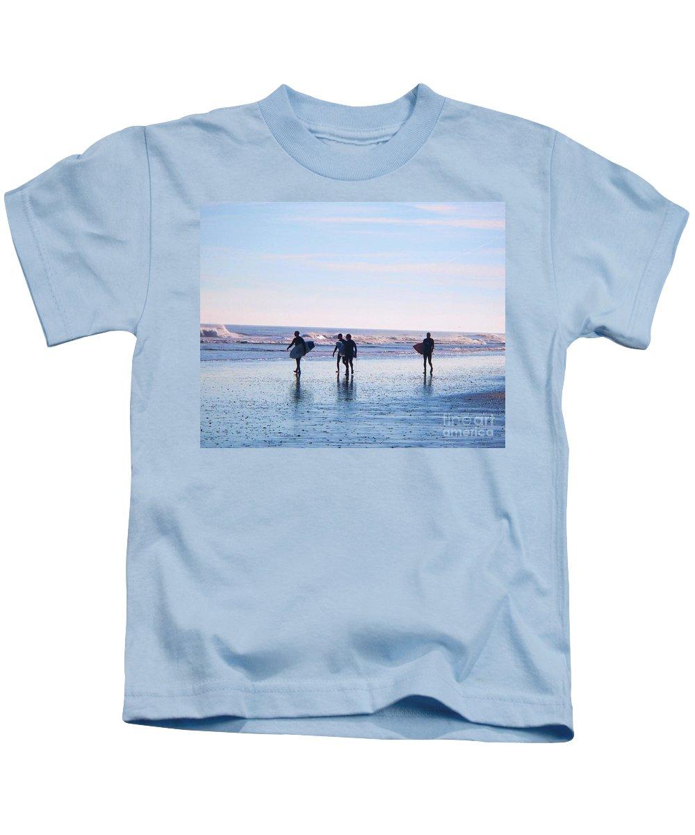 Endless Summer Kids T-Shirt featuring the photograph Endless Summer by Eric Schiabor