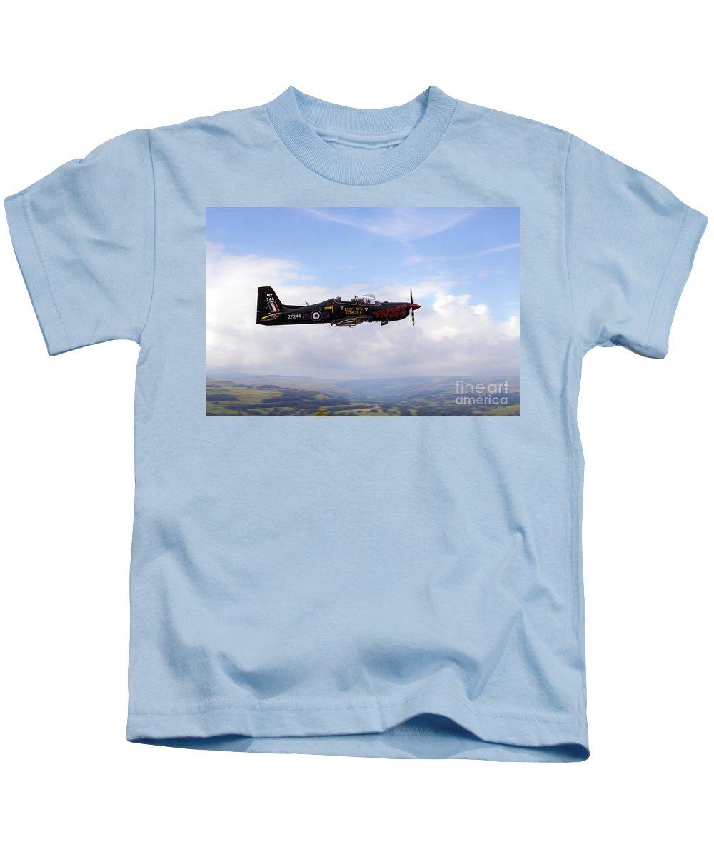 Shorts Tucano Kids T-Shirt featuring the digital art Poppy Tucano by J Biggadike