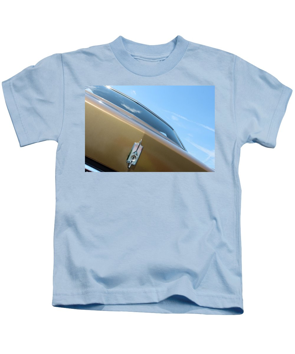 Kids T-Shirt featuring the photograph 1970 Olds by R A W M