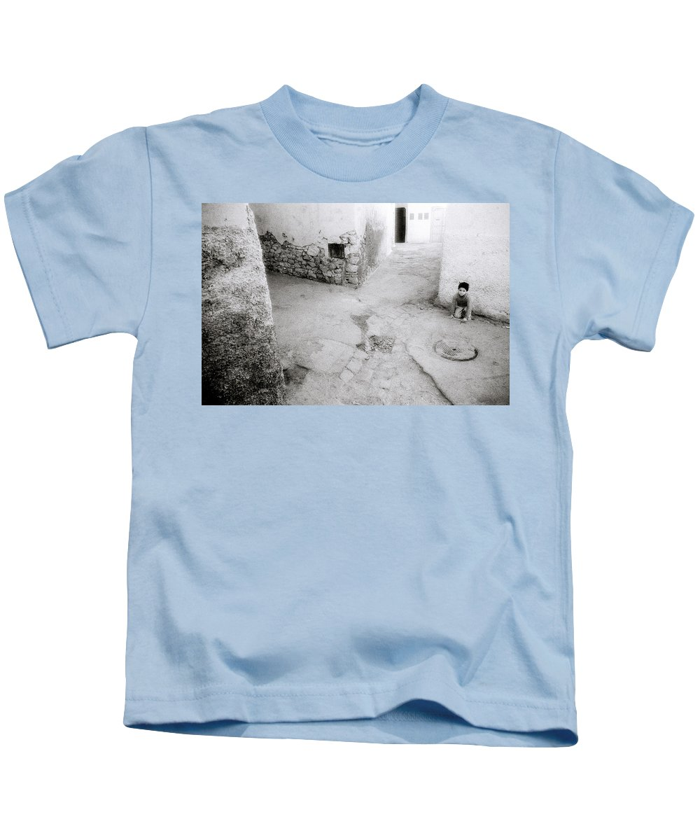 Childhood Kids T-Shirt featuring the photograph Fez Old City by Shaun Higson