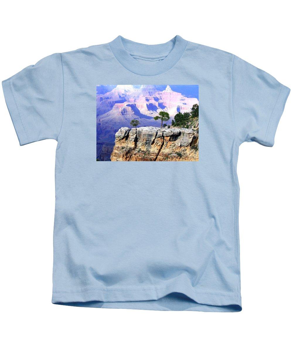 #grandcanyon1vista Kids T-Shirt featuring the photograph Grand Canyon 1 by Will Borden