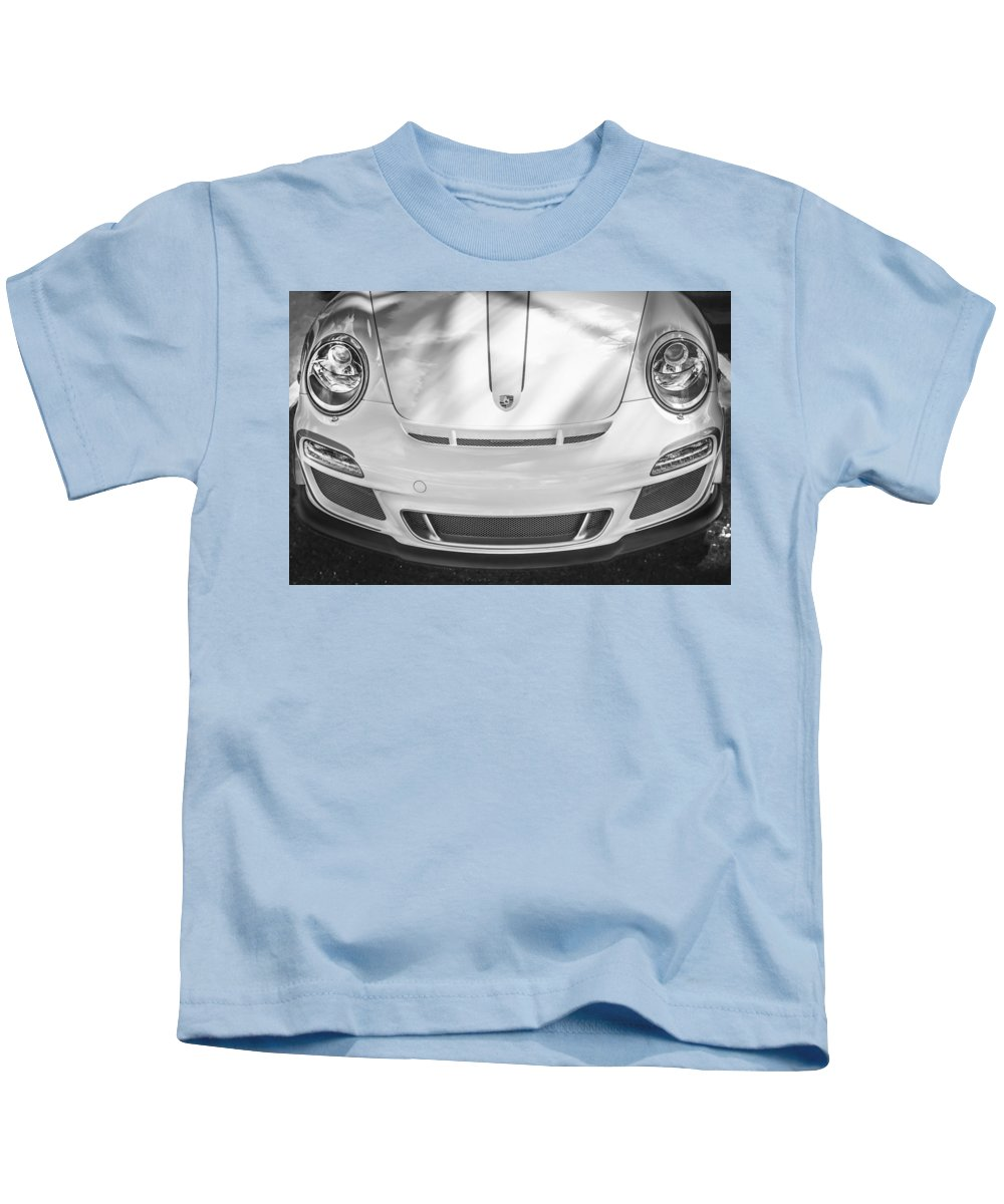 Porsche Kids T-Shirt featuring the photograph Porsche 911 Gt3 Rs 4.0 by Rich Franco
