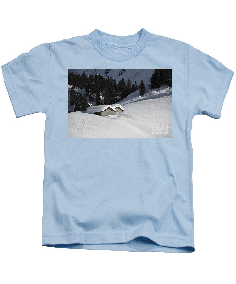 House Kids T-Shirt featuring the photograph Winter by Mats Silvan
